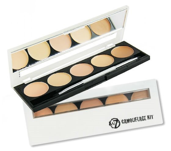 W7 Camouflage Concealer 5piece Kit
