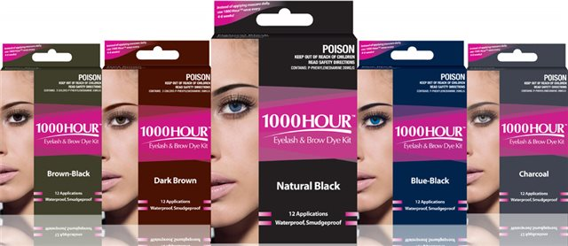 1000 Hour 1000 Hour Eyelash & Eyebrow Dye Kit - Sale : Makeup Direct ...