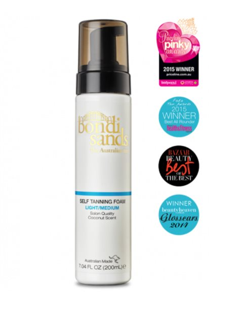 Bondi Sands Self Tanning Foam Light/Medium 200ml
