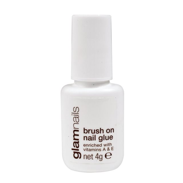 Glam by Manicare Brush On Nail Glue 4g