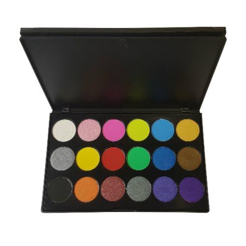 MUD Cosmetics Eyeshadow Palette 18pc