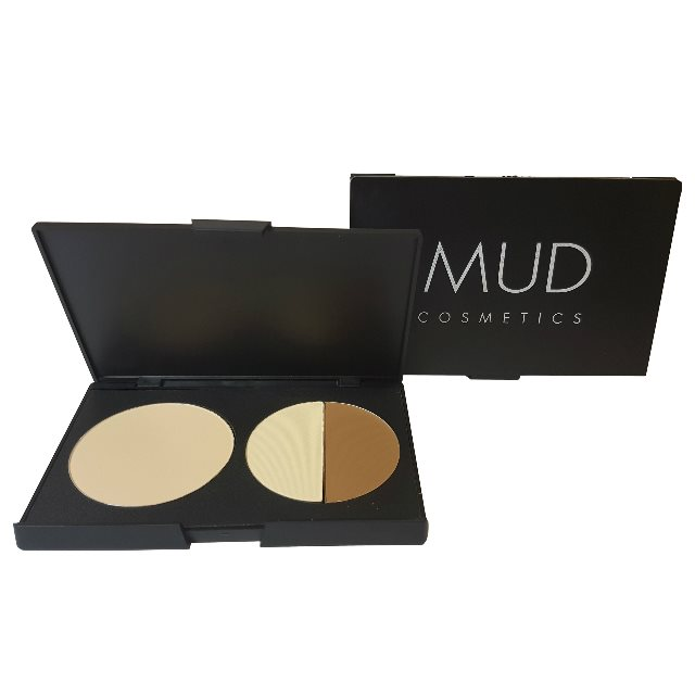 MUD Cosmetics 3pc Contour Powder Palette