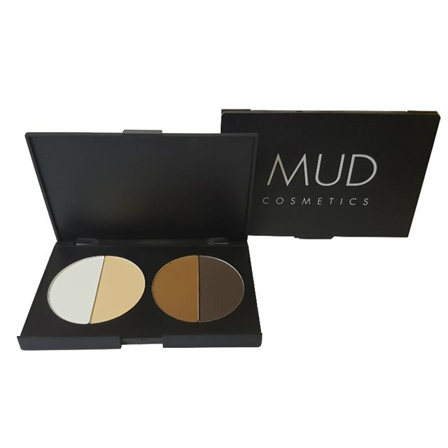 MUD Cosmetics 4pc Contour Palette