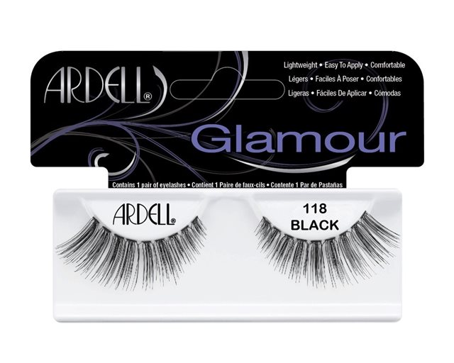 Ardell Glamour Lashes 118 Black