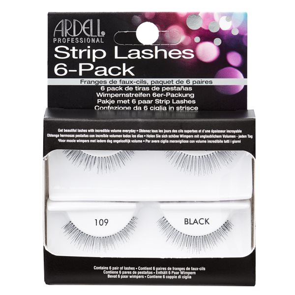 e13d70a6601 Ardell Ardell Natural Lash 109 Black - 6 Pack - : Makeup Direct ...