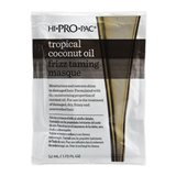 Hi Pro Pac Tropical Coconut Oil, Frizz Taming Hair Masque 52ml