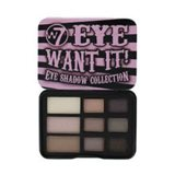 W7 Eye Want It Eye Shadow Collection Compact