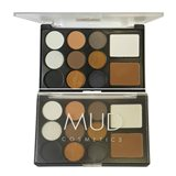 MUD Cosmetics Eyeshadow and Contour Palette 11pc