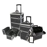 Gladking Ultimate Deluxe Makeup Case - Sparkle